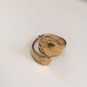 Wm A Rogers Oneida spoon 🥄 vintage ring